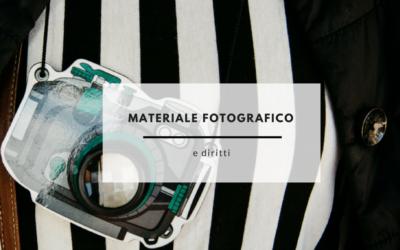 MATERIALE FOTOGRAFICO E DIRITTI