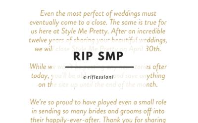 Wedding blogs che ci lasciano