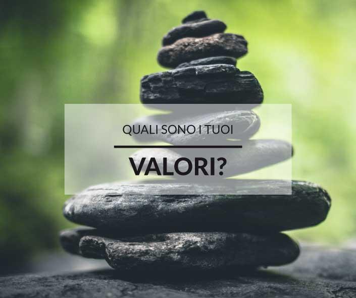 I tuoi valori profondi